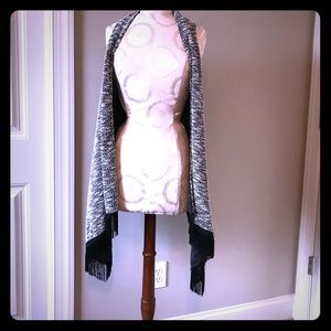 NWT Jessica Simpson vest with fringe